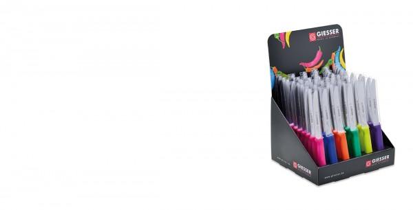 60 Allzweckmesser in 6 verschiedenen Farben